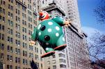 Harold the Clown, Smiling, Helium Balloon, Macy's Thanksgiving Day Parade, 1949, 1940s