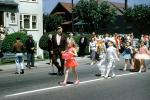Marching, Girls, Boys, Tutu, Dress, Man, Cowboy, Shriner, 1950s