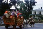 Circus Float, Bass Drum, Clowns, Horses, home, house