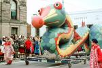Dragon with a Red Nose, colorful, cute, funny, snake, St. George Dragon, Marion Ohio