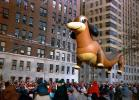 Frieda the Dachshund, Helium Balloon, Float, People, Crowds, Macy's Thanksgiving Day Parade, 1949, PFPV08P07_08
