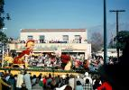 Trojan Float, ducks, Benedici & Benedict, Crowds, people, AAWU, A Scented Adventure, Trojan, University of Southern California, USC, January 1968, 1960s