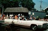 US Congressman Mary Russo, 3rd District, Cadillac, car, parade, Crowds, people