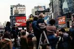 Times Square, People, Crowds, Macy's Thanksgiving Day Parade