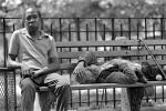 Central Park, Manhattan, summer, summertime, 1975, 1970s