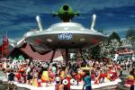 Flying Saucer Water park, UFO, Expo-86, (1986 World Exposition), Vancouver, 1980s