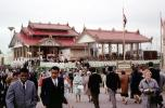 People, Crowds, Burma Pavilion, Burmese, Montreal Expo, Expo-67, Canada, 1967, 1960s, PFWV01P12_06