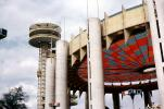 New York State Pavilion, Observation Towers, New York World's Fair, 1964, 1960's, PFWV01P12_12