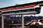 Hanging Monorail, Passenger cars, New York Worlds Fair, 1964, 1960s