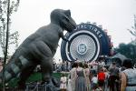 US Royal Tires, Sinclair Oil Pavilion, Tyrannosaurus Rex, Dinosaur, Dinoland, New York World's Fair, 1964, 1960s, Trex, T-Rex, New York Worlds Fair, PFWV03P11_11