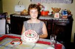 Cake, Table, Ice Skater, Girl, TeaCup, Linda, June 1960, 1960s