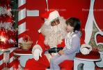 Santa Claus, candy cane, shopping mall, PHCV01P04_01