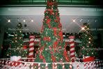 candy cane, Tree, Decorated, Decorations, presents, shopping mall, PHCV01P04_03