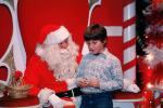 candy cane, Santa Claus, Child, wishes, shopping mall, PHCV01P04_07
