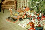 Tree, Presents, Gifts, 1950s