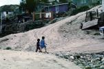Kids Walking, Dirt Road, Colonia Flores Magone, unpaved, PLGV01P14_11