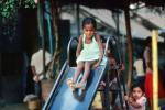 Girl on a Slide, Khroorow Baug, Mumbai, PLPV03P13_11