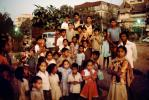 Group of Children, evening, boys, girls, Khroorow Baug, Mumbai, PLPV03P13_17