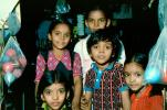 Group of Children, girls, Mumbai, India