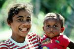 girl, female, face, melanesian, boy, male, guy, smiles