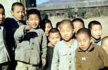 Group Portrait, Boys, Korea, Asian, 1957, 1950s, PLPV13P11_12
