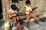 Guitar, Boys, Playing