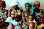 well baby clinic, Africa, nursing, breast feeding