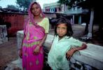 Mother and Daughter, Gujarati, India