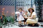 Easter Sunday, Dress, Brother, Sister, Siblings, Daughter, Son, Backyard, 1950s, PMCV03P13_13