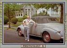 Man, Male, Car, 1940's, PORV11P08_01