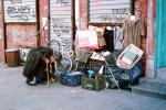 Squatter Encampment, Homeless Encampment, shantytown, tents, shelter, POUV01P04_03