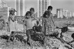 Children picking through trash, Mumbai (Bombay), India, POVPCD3306_037