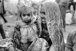 Mother and her Daughter, baby, dress, shanty town, slum, Mumbai, India, POVPCD3306_099