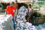 Men, Recycling Paper, Khroorow Baug, Mumbai, POVV01P09_13B