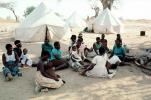Women, Tents, Refugee Camp, Mozambique, Diaspora, POVV01P11_07