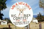 Win A new Rifle, Big Buck Contest, M&M Feed, shooting range, 1950s, PRGV01P04_10