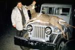 Deer Hunter, Hunting, Jeep, Car, Automobile, December 1958, 1950s, PRGV01P04_13
