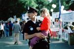 Crying Child Lost, Girl, Police Man, PRLV01P01_14