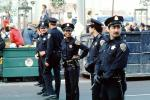 1984 Democratic Convention, Moscone Center, San Francisco, California, mounted police, 1980s, PRLV01P01_19