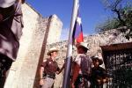Texas Rangers, Lowering of the Flag, The Alamo, Color Gaurd, PRLV02P02_07