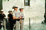 Texas Rangers, Lowering of the Flag, The Alamo, Color Gaurd, PRLV02P02_11