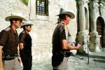 Texas Rangers, Lowering of the Flag, The Alamo, Color Gaurd, PRLV02P02_12
