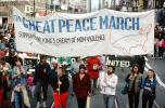 Great Peace March banner, Martin Luther King Jr. Day Parade, MLK, June 20 1986, 1980's, PRSV02P01_05