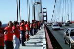 Hands Across America, Golden Gate Bridge, May 24 1986, 1980s