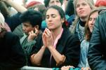 Prayer, praying, woman, Earth Day 1990, PRSV03P07_14