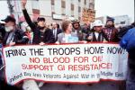 Anti-war protest, First Iraq War, January 15 1991