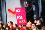 No Young Blood for Big Oil, Anti-war protest, First Iraq War, January 15 1991, PRSV03P12_08