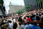 ticker tape parade, victory over Kuwait and Iraq, New York City, summer, Manhattan, Celebration