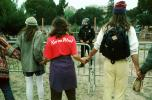 Karma Patrol, Peoples Park Protest, Berkeley California, August 1991