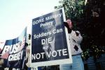 Gore Military Policy, Soldiers can Die but Not Vote, Nashville, Tennessee, PRSV07P04_10